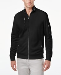 Inc International Concepts Men's Horizon Diamond Quilted Jacket Only At Macy's Deep Black