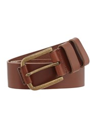 Howick Casual Leather Belt Tan