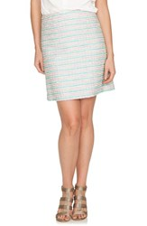 Women's Cece By Cynthia Steffe Tweed A Line Skirt