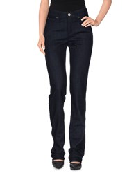 Armani Jeans Denim Denim Trousers Women Blue