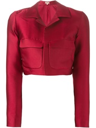 P.A.R.O.S.H. 'Picabia' Jacket Red