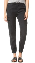 Ag Jeans The Pepper Utility Trousers Sulfur Black