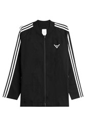 White Mountaineering Zipped Cotton Jacket Multicolor