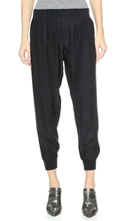 Atm Anthony Thomas Melillo Silk Pull On Pants Black