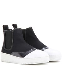 Mcq By Alexander Mcqueen Netil Chelsea Ankle Boots Black
