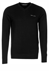 Teddy Smith Pulser Jumper Noir Black Denim