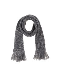 Closed Accessories Oblong Scarves Women Grey