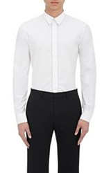 Givenchy Men's Chain Embellished Shirt White