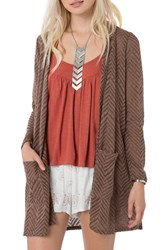 O'neill Women's Chevron Knit Cardigan
