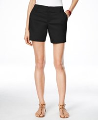Inc International Concepts Curvy Fit Shorts Only At Macy's Deep Black