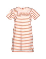 Le Mont St Michel Short Dresses Salmon Pink