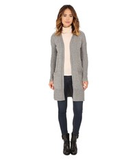 Roxy Early Riser Solid Cardigan Charcoal Heather Women's Sweater Gray