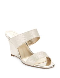 Bandolino Jadzia Wedge Sandals Gold