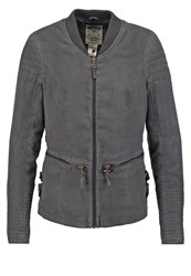 Khujo Krina Summer Jacket Charcoal Anthracite