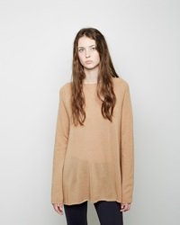 The Row Banny Cashmere Sweater Light Beige