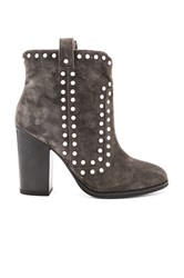 Lola Cruz Los Angeles Bootie Charcoal