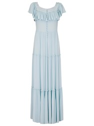 Ghost Darsie Dress Whisper Blue