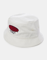 10.Deep Salt Flats Bucket Hat White