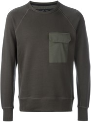 Rag And Bone 'Aviator' Sweatshirt Brown