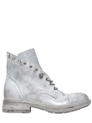 Fru.It Fruit 20Mm Metallic Leather Cropped Boots