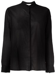 Vanessa Bruno Athe Mandarin Neck Shirt Black
