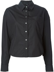 Alexander Wang Patch Pocket Shirt Black
