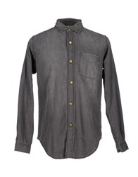 Current Elliott Denim Shirts Steel Grey