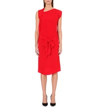 Anglomania Rixon Crepe Dress Red