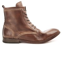 Hudson Swathmore Camel Leather Boots