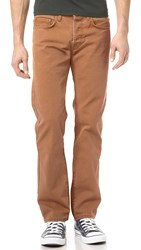 Baldwin Denim Reed Duck Canvas Tobacco Jeans