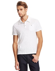Kenneth Cole Pocket Polo Shirt White
