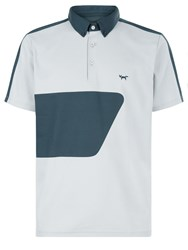 Wolsey Colour Block Polo Grey