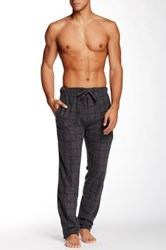 Bottoms Out Micro Fleece Sleep Pant Gray