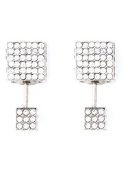 Vita Fede 'Double Cubo' Earrings Metallic