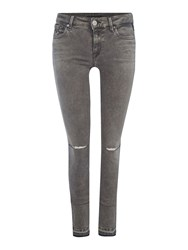 Replay Luz Skinny Fit Jeans Grey