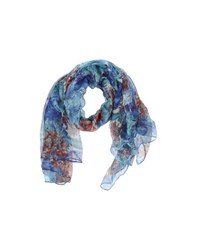 Tru Trussardi Accessories Stoles Women Blue