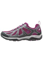 Columbia Peakfreak Xcrsn Ii Xcel Outdry Walking Shoes Dark Raspberry Northern Light Pink