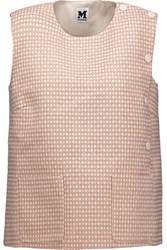 M Missoni Metallic Cotton Blend Jacquard Top Multi