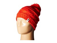 The North Face Triple Cable Pom Beanie High Risk Red Beanies Multi