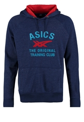 Asics Graphic Hoodie Indigo Blue Heather