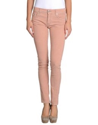 Care Label Casual Pants Light Grey