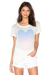 Wildfox Couture Heat Wave Heart Tee Mint