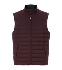 Ted Baker Ithaca Quilted Gilet Male Red