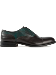 Pollini Contrast Shoes Black