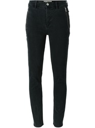 Marc By Marc Jacobs Zipped Pocket Skinny Jeans Black