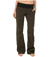 Lucy Get Going Pant Forest Women's Workout Green