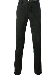 Incotex Slim Fit Trousers Green