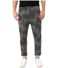 Alternative Apparel Light French Terry Dweller Pants Heather Grey Patchwork Men's Casual Pants Gray