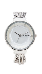 Rumbatime Orchard Chain Watch Crystal