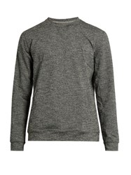 A.P.C. X Outdoor Voices Crew Neck Performance Sweatshirt Dark Grey